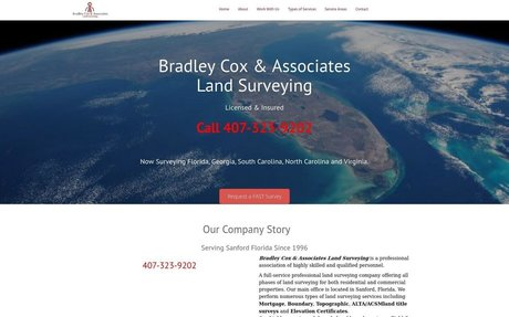 Bradley Cox and Associates Land Surveying Sanford Florida