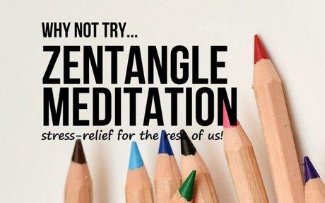Zentangle Art Meditation - Live the Whole