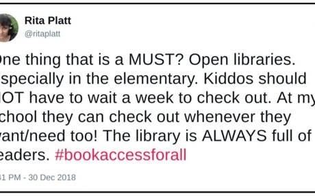 Want Eager Readers? Open the Doors to Your Library Wide!