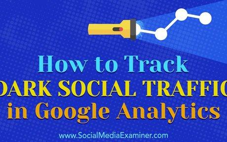 How to Track Dark Social Traffic in Google Analytics : Social Media Examiner