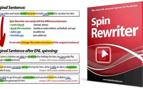 Spin Rewriter 8.0 Best Paraphrase Article Spinner Review