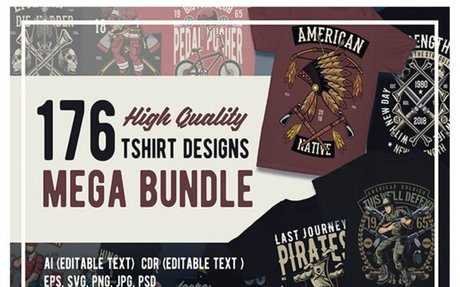 176 graphic tshirt designs - Thefancydeal