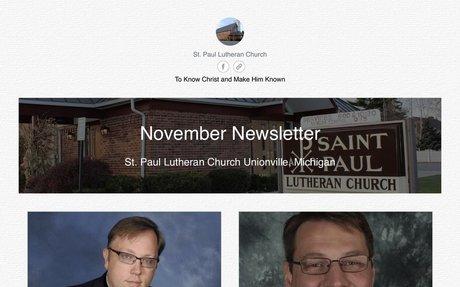 November Newsletter Available Online