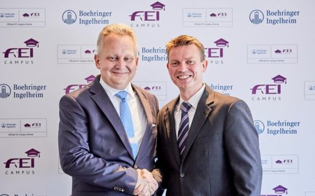 Training/Care: Boehringer Ingelheim teams up with FEI for FEI Campus