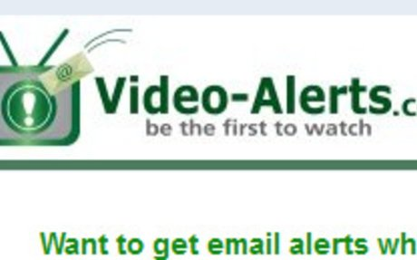 Videos TIP:  Build Your Video Library with Video Alerts