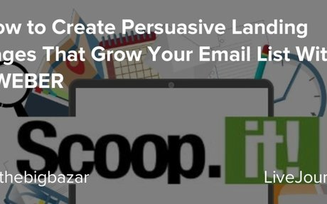 How to Create Persuasive Landing Pages That Grow Your Email List With AWEBER