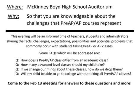 PreAP and AP Seminar