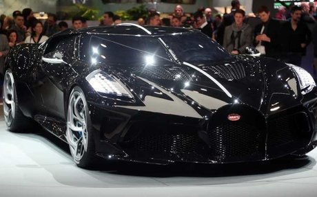 BRAND HIGHLIGHT // Bugatti La Voiture Noire Debuts As The Most Expensive New Car Ever