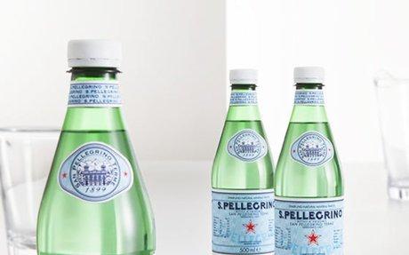 S.Pellegrino sparkling water: the italian water