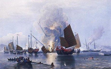 3) First Opium War (1839-1842)