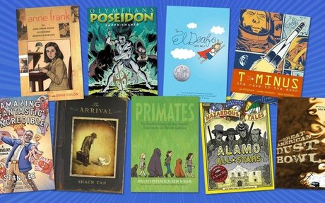 Powerful Graphic Novels for Middle School