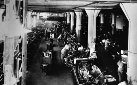 Ford's assembly line : How it changed society