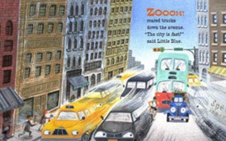 Little Blue Truck Leads the Way board book: Alice Schertle, Jill McElmurry: 9780544568051:
