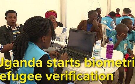 Uganda starts biometric refugee verification