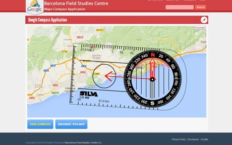 Use Google Compass to Sharpen your Compass Reading Skills