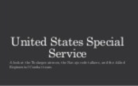 United States Special Service: