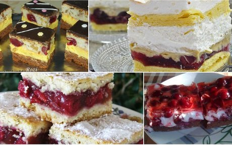 10 mennyei meggyes süti