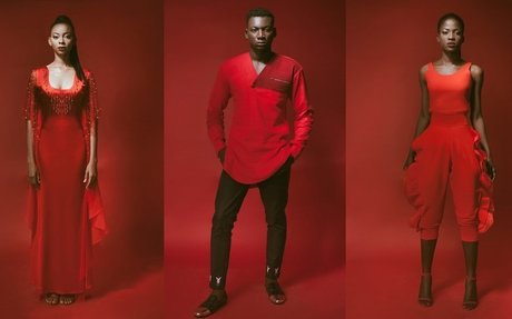 Rouge To You! - Aisha Abu-Bakr Luxury Design Presents Unisex Collection - StyleVitae
