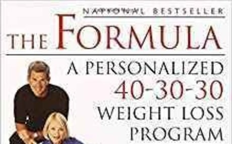 The Formula: A Personalized 40-30-30 Weight Loss Program: Gene Daoust, Joyce Daoust: 97803