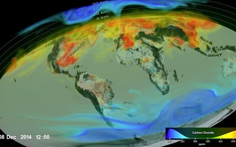 Eye-Popping View of CO2, Critical Step for Carbon-Cycle Science