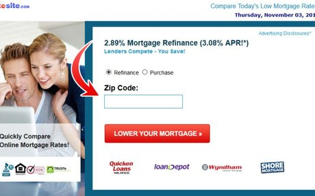 Refinance at 2.89%. Don't Miss out.