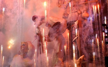 "Fantastic article to understand the ancestral Spanish art festival known as ""Las Fallas"""