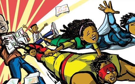 Meet the black woman working behind the scenes to bring comics to kids of color