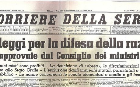 Least drastic impact on minorities - Mussolini