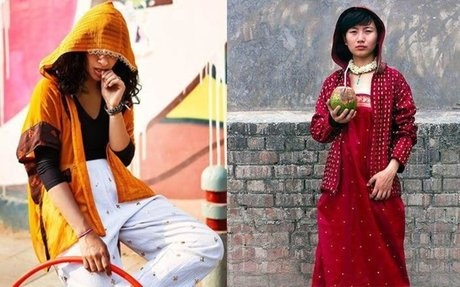 Ghunghat Hoodie & Dadi Gloves – The Indie Label Redefining Fusion Fashion