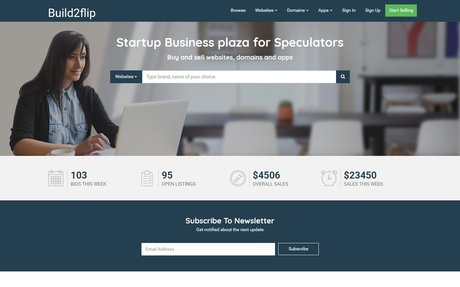 Launching Build2Flip - A Flippa Clone - A Marketplace for Buying & Selling Websites, Domai