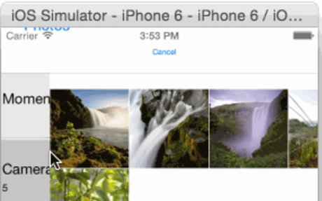 Selecting multiple images in a PhoneGap/Cordova app