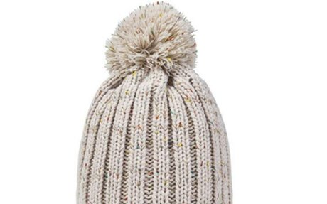 REDESS Women Winter Pom Pom Beanie Hat with Warm Fleece Lined, Thick Slouchy Snow Knit Sku