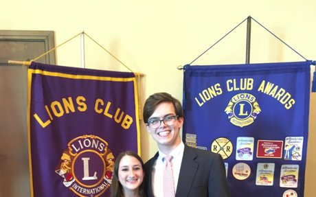 MBHS Lion's Club Students of the Month