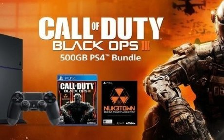 Amazon.com: Sony PlayStation 4 500GB Bundle with Call of Duty Black Ops III - Black: Video