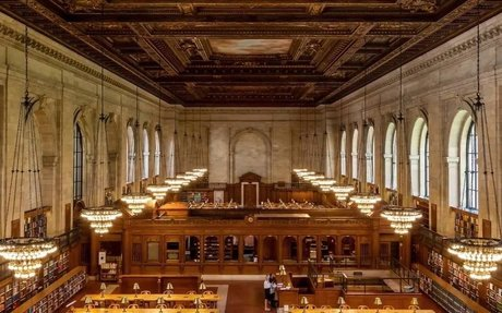 Time Lapse: Thousands of Books Get Reshelved Before the Rose Main Reading Room Reopens
