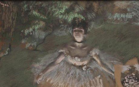 The strange side of Degas