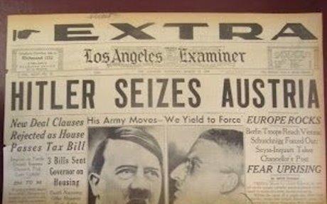 Anschluss: German Unification with Austria