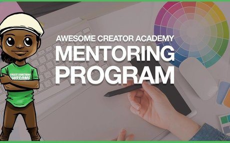 Awesome Creator Academy is an online learning platform and mentoring program for Online En