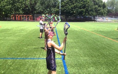 Girls Lacrosse: How to Catch and Throw for Beginners