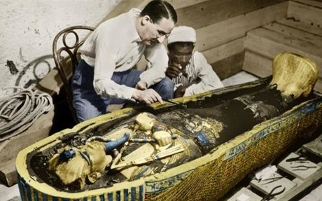 Archaeologist opens tomb of King Tut - Feb 16, 1923 - HISTORY.com