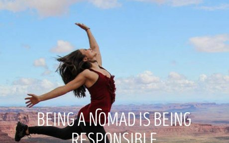Being a Nomad is Being Responsible: EPISODE 76 | Journey To There