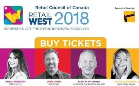 Retail West Conference in Vancouver, November 6, 2018