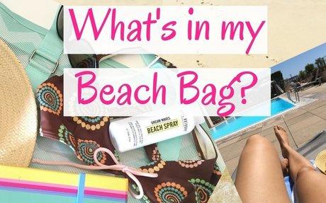 What's in my Beach Bag! My Essentials ♡♡♡