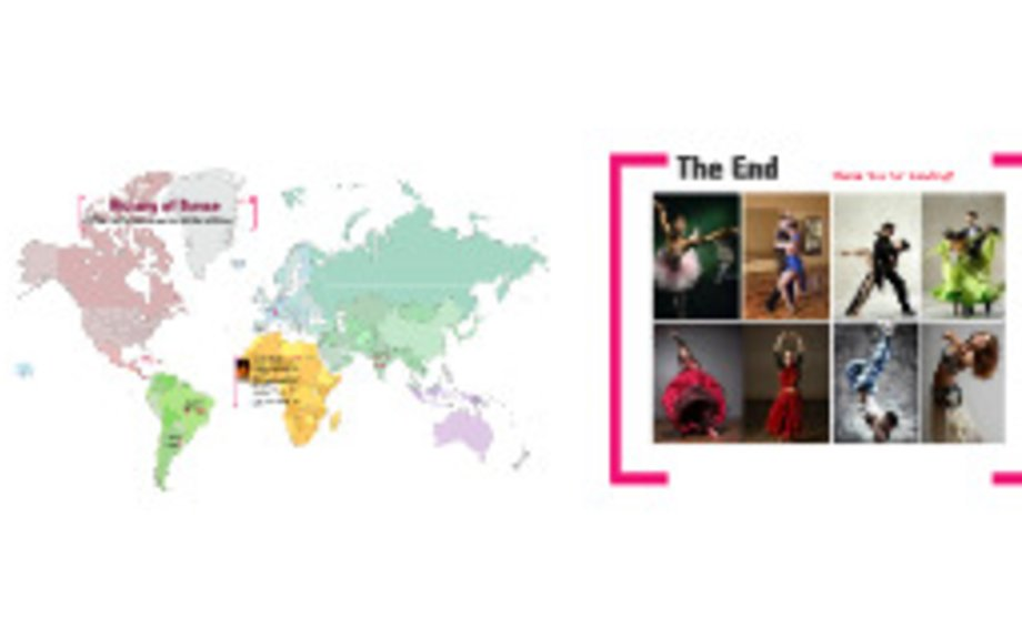 history of dance around the world
