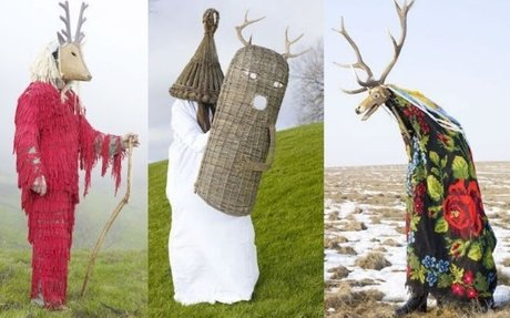 Astonishing pictures of 21st century pagan ritual garb from all over Europe