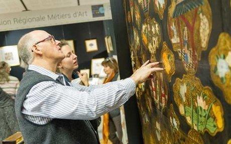 Au Salon du patrimoine culturel, les métiers d'art affichent leur créativité
