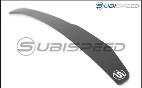 SubiSpeed VA Gurney Flap for OEM Short Spoiler - 2015+ WRX / 2015+ STI