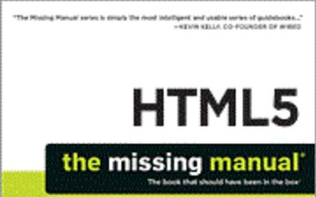 HTML5: The Missing Manual - The Try-Out Site
