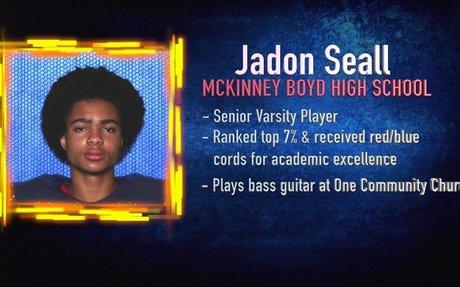 Scholar Athlete of the Week - Jadon Seall