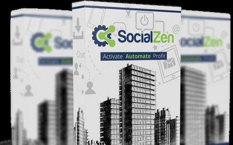SocialZen Social Media Automation App